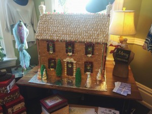 The Nook's Gingerbread House located at Ancestor Square, St. George, Dec. 6, 2014 | Photo by Ali Hill, St. George News