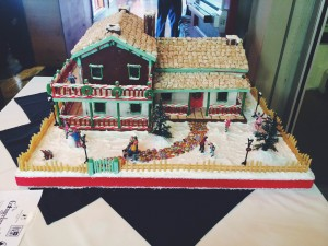 Painted Pony's Gingerbread House located at Ancestor Square, St. George, Dec. 6, 2014   Photo by Ali Hill, St. George News