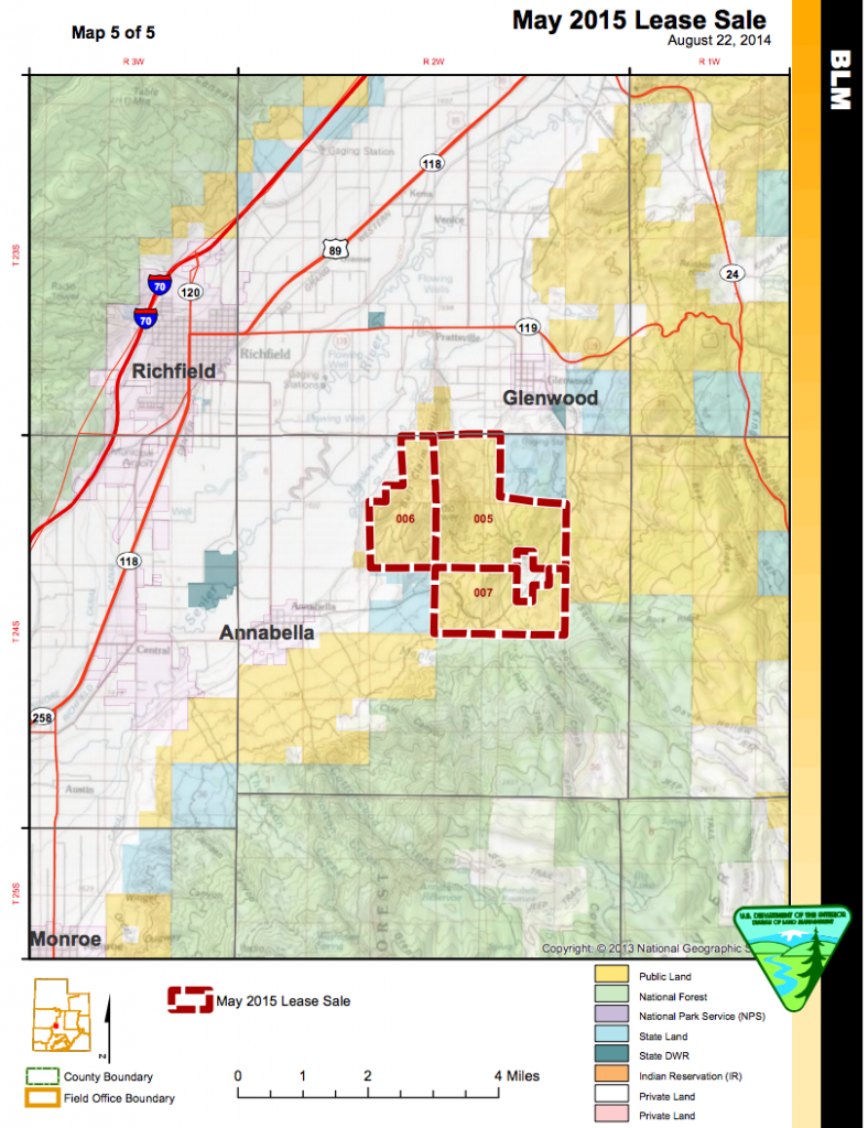 BLM seeks comment on environmental assessments, May 2015 oil, gas ...