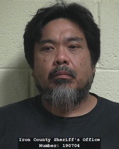 Steve Nie booking photo posted Dec. 3, 2014 | Photo courtesy of the Iron County Sheriff's Office, St. George News