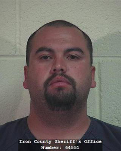 Eric Rodriguez, booking photo posted Oct. 30, 2014 | Photo courtesy of Iron County Sheriff's Office, St. George News