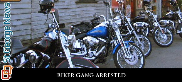 11 motorcycle gang members face riot charges after violent