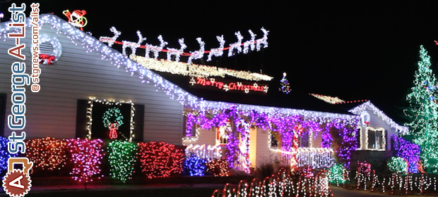 a list the best christmas lights in town st george news - Christmas Lights In Utah