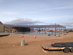 New Cedar City store in progress | Photo courtesy of Rob Christensen