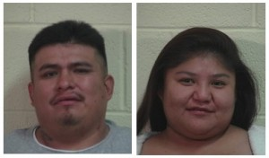 Anthony Gustavo Mike and Katrina Sheree Box, Iron County, Utah, Dec. 22, 2014 | Photos courtesy of the Cedar City Police Department, St. George News