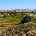 Property where four families will start building homes the week of Dec. 22, Toquerville, Utah, December 2014 | Photo courtesy of Five County Association of Governments, St. George News