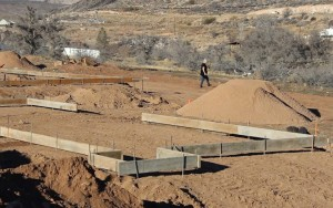 The lots the self-help program will be building their homes on, Toquerville, Utah, Jan. 15, 2015 | Photo by Leanna Bergeron, St. George News