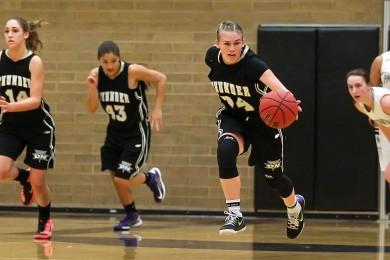 Desert Hills vs. Pine View, Girls Basketball, St. George, Utah, Jan. 8, 2015 | Photo by Robert Hoppie, ASPpix.com, St. George News