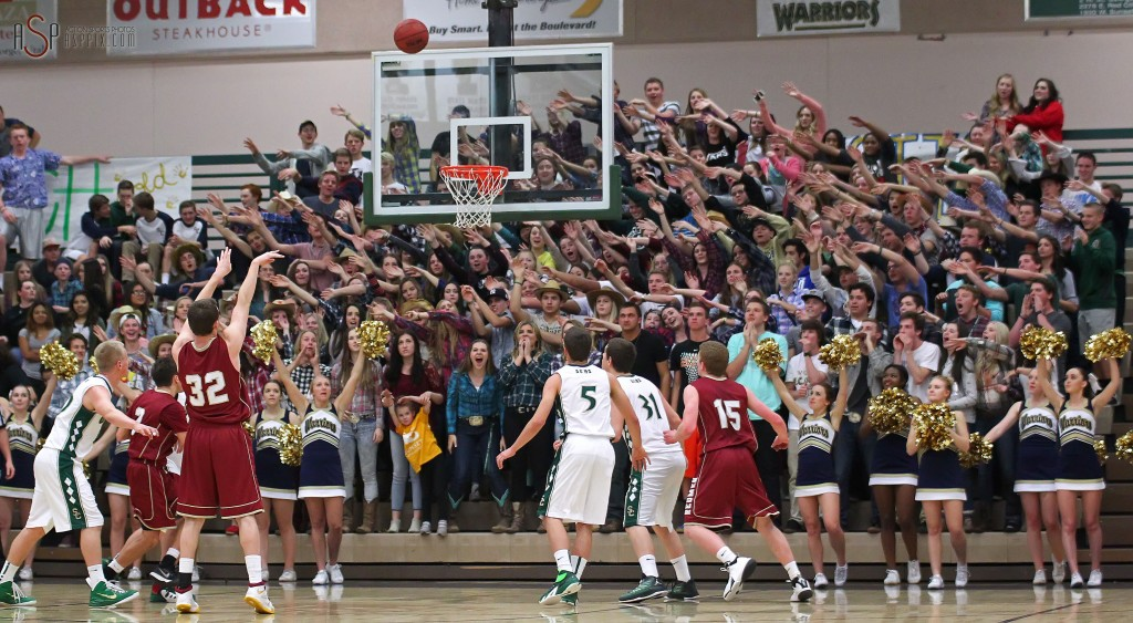 Snow Canyon vs. Cedar, Boys Basketball, St. George, Utah, Jan. 9, 2015 | Photo by Robert Hoppie, ASPpix.com, St. George News