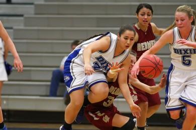 Cedar vs. Dixie, Girls Basketball,  St. George, Utah, Jan. 13, 2015 | Photo by Robert Hoppie, ASPpix.com, St. George News