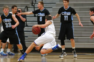 Canyon View vs. Dixie, Boys Basketball,  St. George, Utah, Jan. 21, 2015 | Photo by Robert Hoppie, ASPpix.com, St. George News