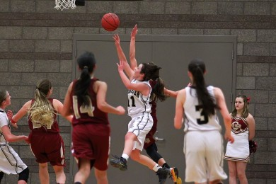 Cedar vs. Desert Hills, Girls Basketball,  St. George, Utah, Jan. 22, 2015 | Photo by Robert Hoppie, ASPpix.com, St. George News