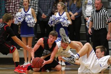 Hurricane vs. Dixie, Boys Basketball,  St. George, Utah, Jan. 23, 2015 | Photo by Robert Hoppie, ASPpix.com, St. George News