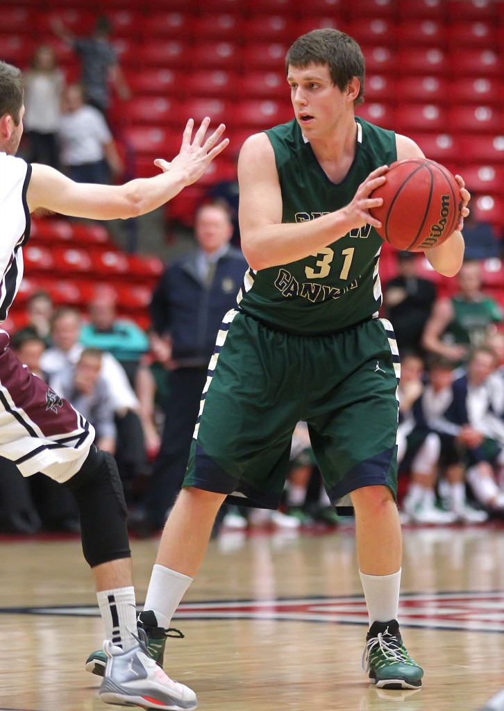 Kade Potter (31). File photo from Snow Canyon vs. Pine View, Boys Basketball,  St. George, Utah, Jan. 23, 2015 | Photo by Robert Hoppie, ASPpix.com, St. George News