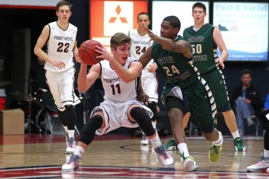 Snow Canyon vs. Pine View, Boys Basketball,  St. George, Utah, Jan. 23, 2015 | Photo by Robert Hoppie, ASPpix.com, St. George News