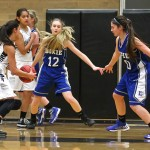 Dixie vs. Pine View, Girls Basketball, St. George, Utah, Jan. 29, 2015 | Photo by Robert Hoppie, ASPpix.com, St. George News