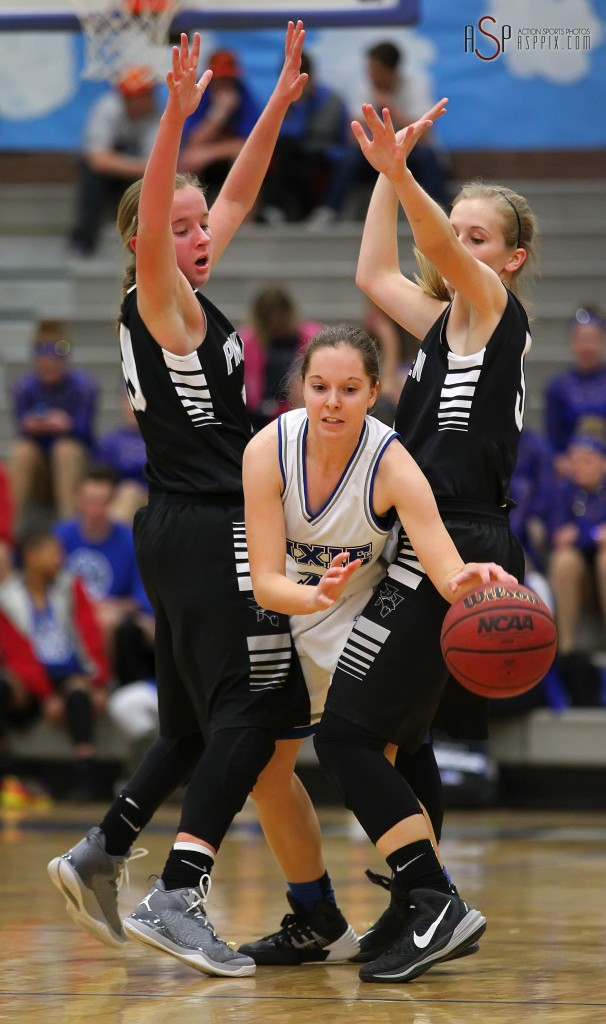 Dixie vs. Pine View, Girls Basketball, St. George, Utah, Jan. 6, 2015 | Photo by Robert Hoppie, ASPpix.com, St. George News