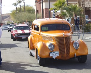 Cars at the Mesquite Motor Mania car show in Mesquite, Nevada, Jan. 17, 2015 | Photo by Samantha and Rhonda Tommer, St. George News