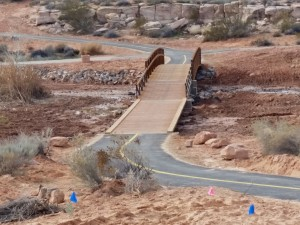 A trail in Sand Hollow Wash is part of the extensive active transportation system area residents enjoy, St. George, Utah, January 19, 2015 | Photo by Julie Applegate, St. George News