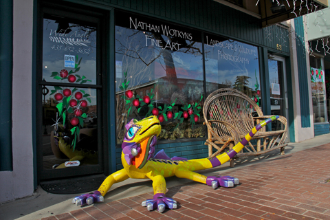 """""""Arts to Zion"""" mascot 