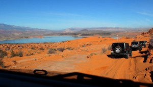 Winter 4x4 Jamboree, Sand Hollow State Park, Jan. 24, 2015 | Photo by Leanna Bergeron, St. George News