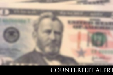 Hurricane City Police Department forewarn public and business owners of counterfeit money circulation, stock image | Photo by St. George News