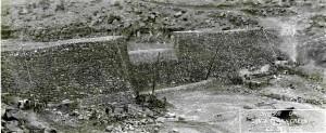 Shem Dam, Washington County, Utah, circa 1934   Photo courtesy of the Washington County Historical Society, St. George News