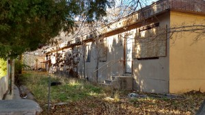 Condemned West Cove Apartments on 300 West, St. George, Utah, Jan. 7, 2015   Photo by Mori Kessler, St. George News