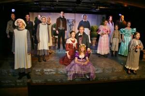 "The cast of ""Jane Eyre"" at Brigham's Playhouse, Washington, Utah, Feb. 4, 2015 | Photo by Cami Cox Jim, St. George News"