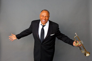 Byron Stripling, jazz artist smiles during a photo, location and date unspecified | Photo courtesy of the Celebrity Concert Series, St. George News