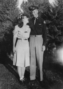 From L: Naomi and Bob Brems married in 1943, circa 1943   Photo courtesy of Naomi Brems, St. George News