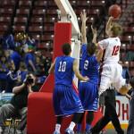 Dixie vs. Bear River, 3A State Basketball Tournament, Salt Lake City, Utah, Feb. 26, 2015   Photo by Robert Hoppie, ASPpix.com, St. George News