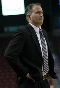 Cedar Head Coach John Elison, Cedar vs. Morgan, 3A State Basketball Tournament, Salt Lake City, Utah, Feb. 26, 2015 | Photo by Robert Hoppie, ASPpix.com, St. George News