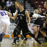 Pine View vs. Richfield, 3A State Basketball Tournament, Salt Lake City, Utah, Feb. 27, 2015 | Photo by Robert Hoppie, ASPpix.com, St. George News
