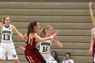 Cedar vs. Snow Canyon, Girls Basketball, St. George, Utah, Feb. 3, 2015 | Photo by Robert Hoppie, ASPpix.com, St. George News
