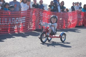 Kids ages 12 and under ride for health and fun at the Move It! Kids criterium held at the Ridge Top Complex, St. George, Utah, Feb. 7, 2015 | Photo by Hollie Reina, St. George News