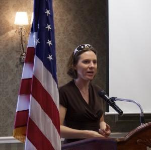 Dr. Erin O'Brien, UBW award recipient, Feb. 10, 2015 | Photo by Rhonda Tommer, St. George News
