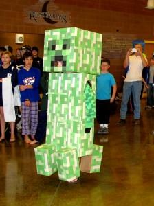 Costume contest at the 2015 Chilly Dip scholarship fundraiser for Cedar City sports programs, Cedar City Community Center, Cedar City, Utah, Saturday, Feb. 7, 2015   Photo by Carin Miller, St. George News