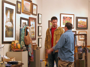 Art in observance, Artisans Art Gallery, Cedar City, Utah, Feb. 21, 2015 | Photo by Carin Miller, St. George News
