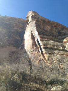 scenic sights along the Lower Calf Creek Falls trail, near Boulder Town, Utah, Feb. 16, 2015 | Photo by Holly Coombs, St. George News