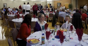 Lincoln Day Breakfast, St. George, Utah, Feb. 14, 2015 | photo by Rhonda Tommer, St. George News