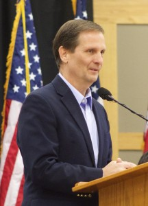 Rep. Chris Stewart, Lincoln Day Breakfast, St. George, Utah, Feb. 14, 2015 | Photo by Rhonda Tommer, St. George News