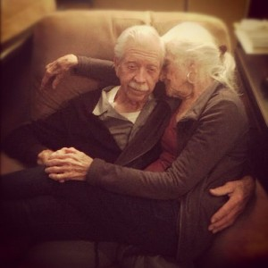 Naomi and Bob Brems' love comes from spending time together, circa 2012   Photo courtesy of Jen Tilley, St. George News