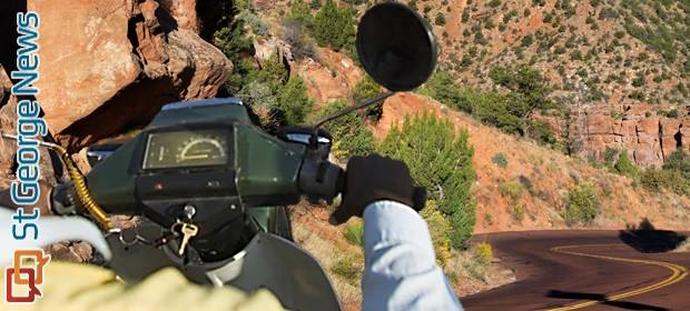 News short dui driver crashes moped in zion national park for Zion motors st george