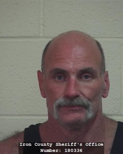 Mark Randall, 44, booking photo posted Feb. 12, 2015   Photo courtesy of the Iron County Sheriff's Office, St. George News