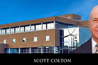 Scott Colton, president of Cache Valley bank, location and date unspecified   Photo of Colton courtesy of Dixie State University, St. George News