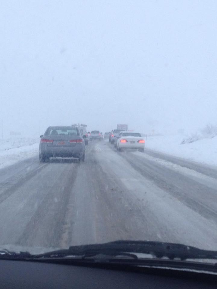 St. George, Utah. Interstate 15. Photo courtesy of Anne Garfield,