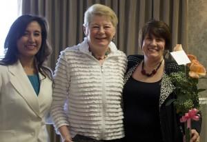 L-R: Blanca Martineau, Stephanie Martini and Stacey Maziarz. Feb. 10, 2105 | Photo by Rhonda Tommer, St. George News