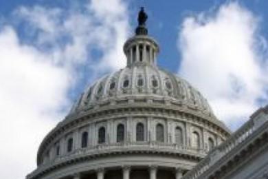 U.S. Capitol Building, Washington D.C.   stock photo