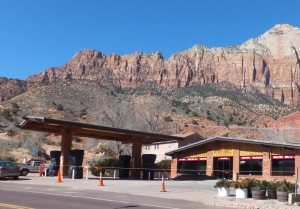 Not all businesses in Springdale are open yet, Zion National Park, Feb. 16, 2015 | Photo courtesy of Dan Mabbutt, St. George News